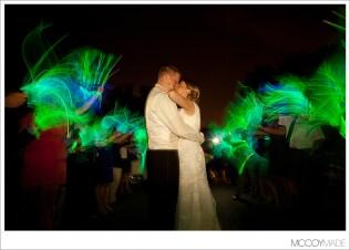 Glow Stick Send Off Ellington Agricultural Center Wedding Ann