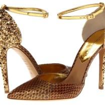 Gold Wedding Shoes Bridal
