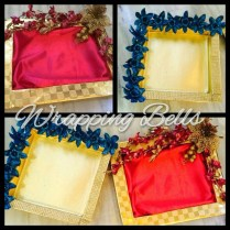 Indian Gift Tray Decorate Tray Like A Stage