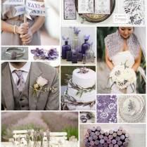 Inspiration For A Lavender Wedding