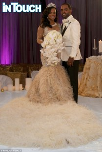Kandi Burruss Wears $20,000 Wedding Dress In First Photos Of