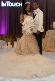 Kandi Burruss Wears $20,000 Wedding Dress In First Photos Of