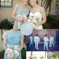 Key Bridesmaid Color Trends–sapphire, Tiffany And Powder Blue