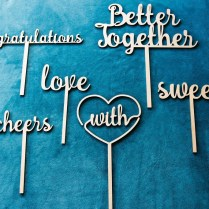 Laser Cut Photo Booth Props For The Wedding Industry