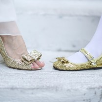 Luxe Beauty Blush Gold Shoes For Wedding – Weddceremony Com