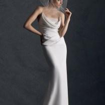 Neck Sheath Wedding Dress