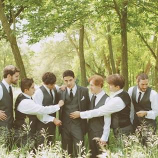Outdoor Wedding Groom Attire