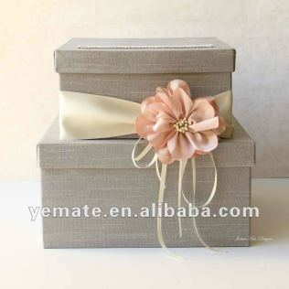 Pink Luxury Wedding Gift For Guests Box,ribbon Indian Wedding Gift