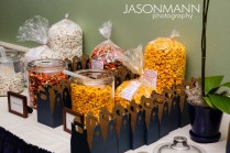 Popcorn Bar Wedding Reception
