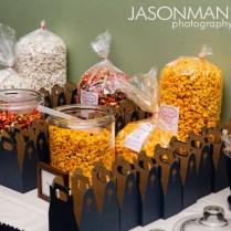 Popcorn Bar Wedding Reception