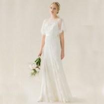 Popular Cowl Neck Wedding Dress
