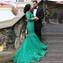 Popular Green Wedding Dresses