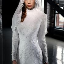 Popular Leopard Wedding Dress