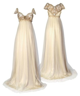 Popular Regency Style Wedding Dresses