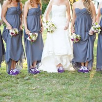 Proof That Sneakers Can Complete A Wedding Ensemble