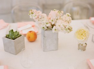 Real Wedding Outdoor Reception Under Tent Simple Wedding Flower