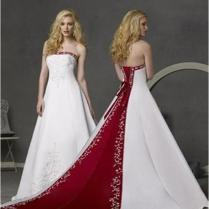 Red And White Wedding Dresses Why're They Special – Carey Fashion