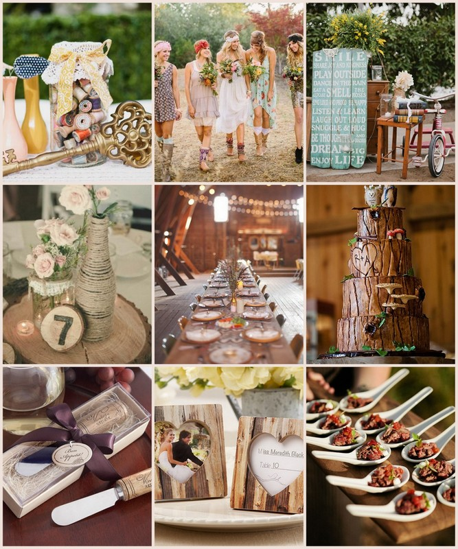 Rustic Wedding Ideas Pinterest
