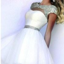 Short White Strapless Wedding Dresses Â« Bella Forte Glass Studio