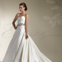 Silk Princess Wedding Dress