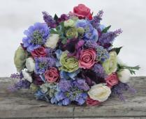 Silk Wedding Bouquet, Wedding Bouquet, Keepsake Bouquet, Bridal