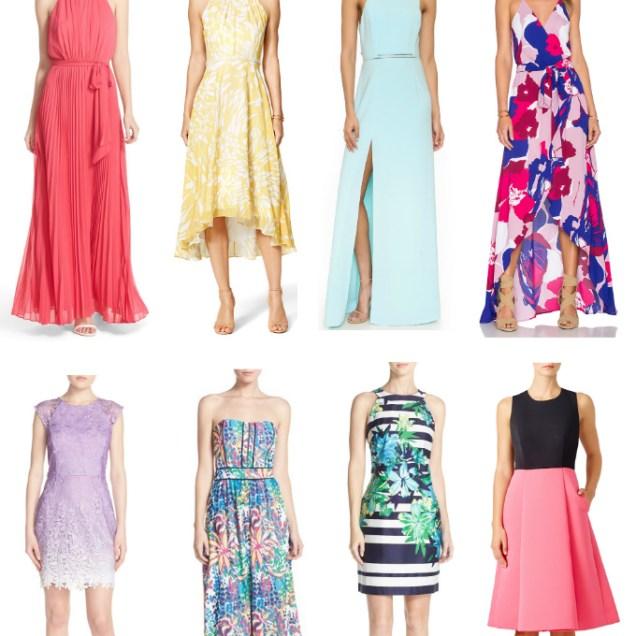 Spring Wedding Guest Dresses For 2016