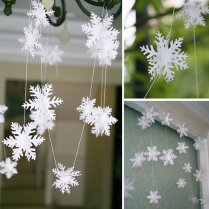 Superb Snowflake Wedding Decorations 3 Frozen Party Supplies 3m