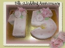 Teenage Love Cake (15th Wedding Anniversary Cake For A Fun Couple
