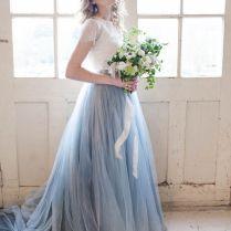 The 25 Best Ideas About Blue Wedding Dresses On Emasscraft Org