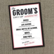 The Quest To Find The Perfect Groom's Gift!