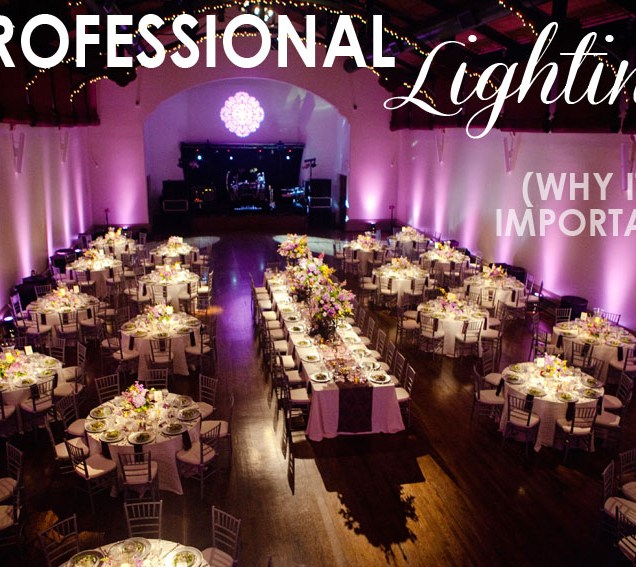 Tips For Clients} Wedding Reception Lighting! » Bend The Light