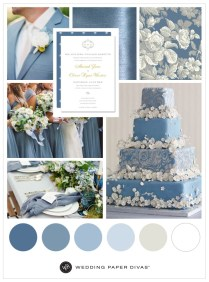 Unique Dusty Blue Wedding Theme Ideas