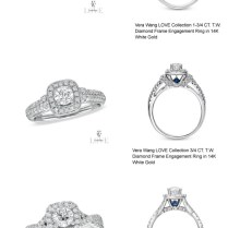 Vera Wang Love Collection Engagement Ring