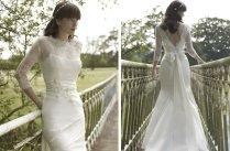 Vintage Inspired Wedding Dress Stephanie Allin Mermaid With Peplum