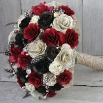 Wedding Bouquets Made Of Wood