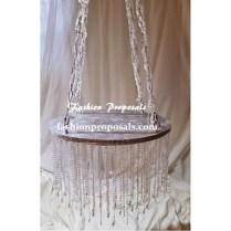 Wedding Cake Stand Cascade Waterfall Crystal Set Of 11 Wedding