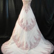 Wedding Dress Light Pink Mauve