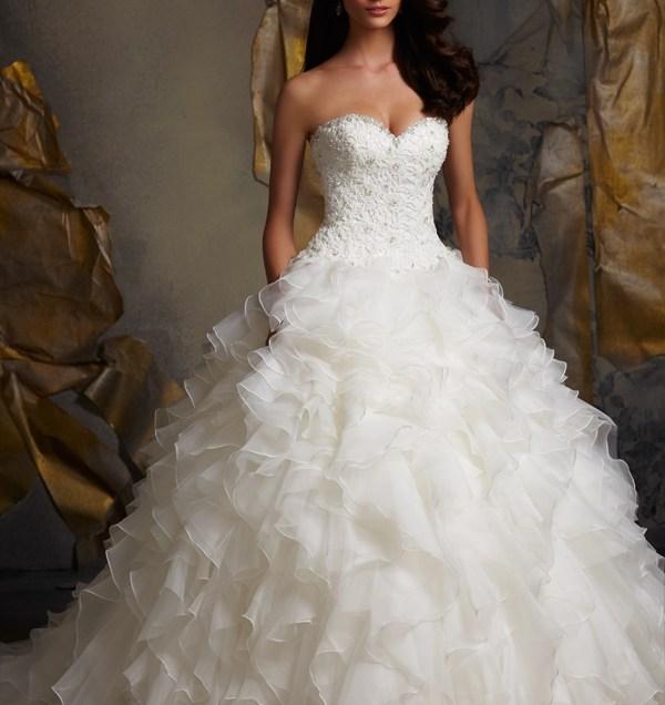 Wedding Dress Ruffles