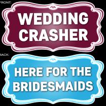 Wedding Theme Prop Signs – 14pcs – Fotokraftwerks
