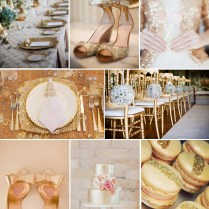 Wedding Trend Alert Gold As The Focus, Not The Accent