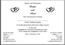 What I Have To Do For My Indian Wedding Invitation Wording