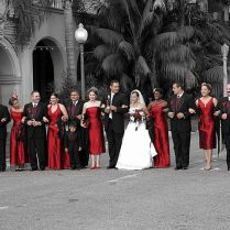 White Black And Red Wedding Ideas