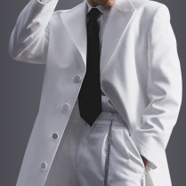White White Avalon Zoot Suit Tuxedo By After