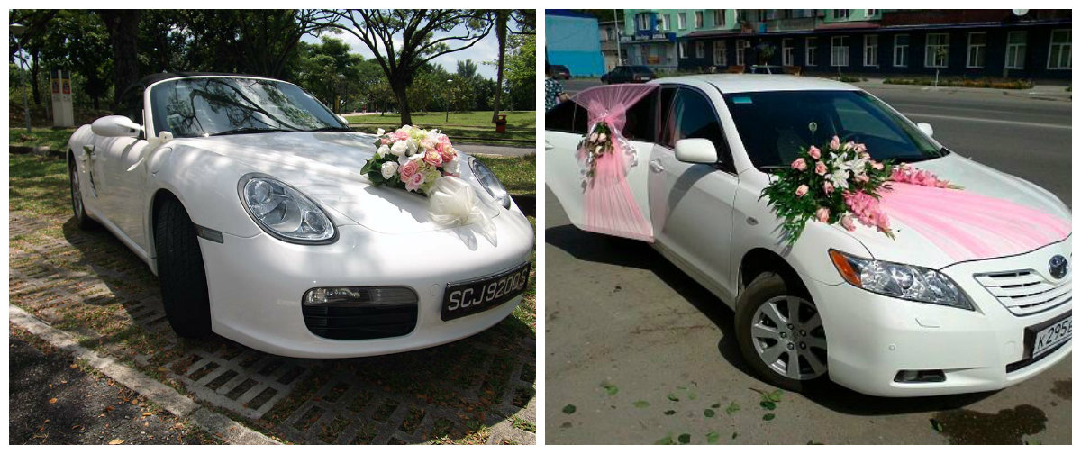 How To Decorate Car For Wedding