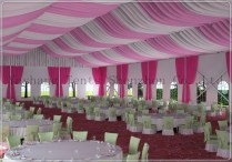 Yashang Tents Blog » Roof Lining Decorations For A Wedding Tent