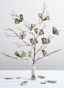 Birthday Money Tree