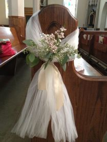 Breathtaking How To Make Wedding Pew Decorations 13 For Your