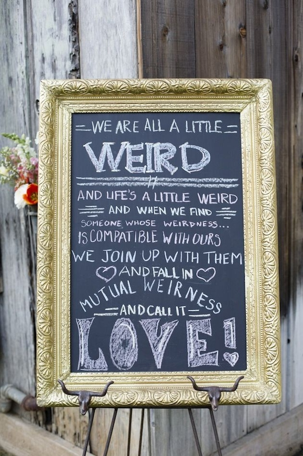 Fun Sayings For Wedding Signs