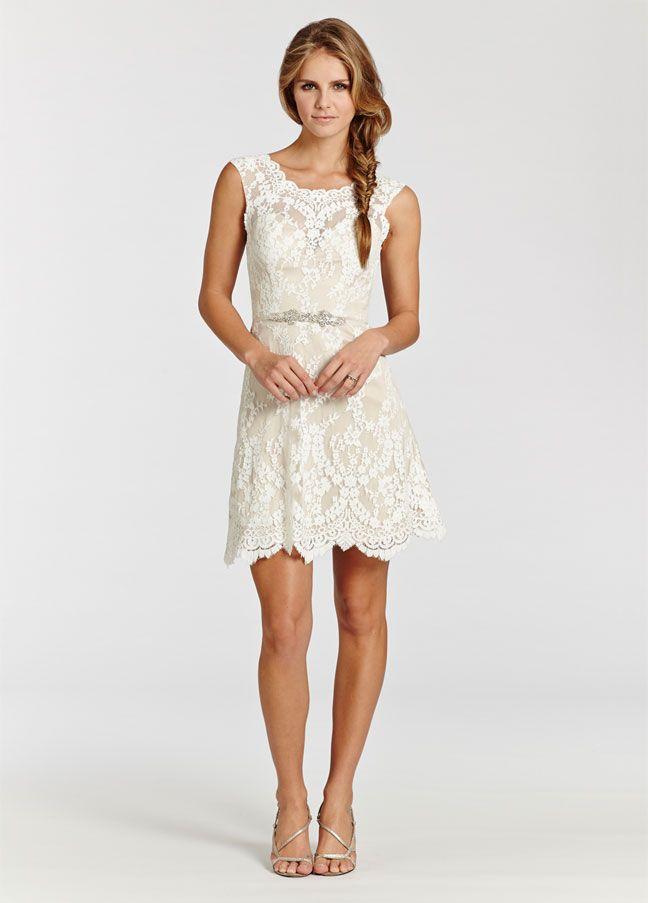 Short Lace Western Dresses