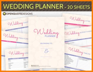 7 Free Printable Wedding Planner Organizer Hostess Resume Free
